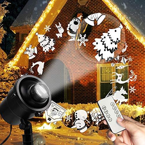 Proiettore di Natale, decorazione natalizia, illuminazione per interni per bambini