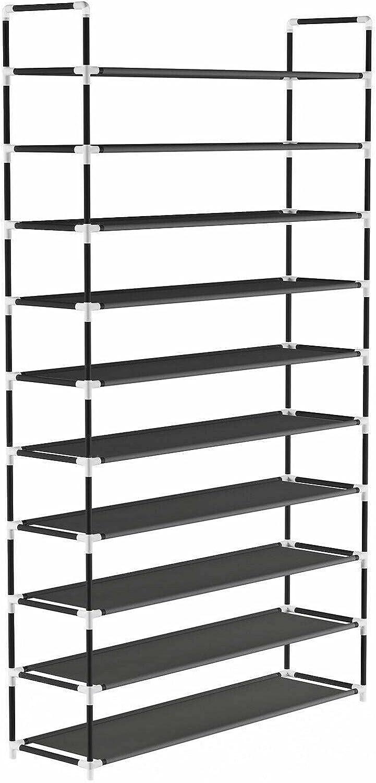 Organizer Rack Stand 10 Tier Closet Saving Genuine Space Hallway Storage It is very popular