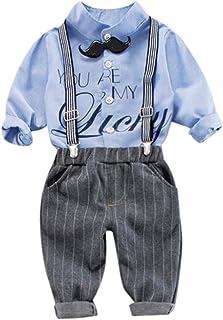 幸運な太陽 子供服 幼児 赤ん坊 男の子 フルーツ 弓の上 シャツ+ズボン 衣装セット 超可愛い 紳士 小学生 花柄 長袖 かっこいい 流行り 上品  ベビー服  フォーマルスーツ 夏 秋 少年 入学式 卒業式 入園式