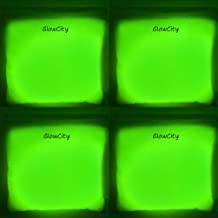 GlowCity Cornhole Light-Up Bean Bags Version 2.0 Water-Resistant Toss Game Accessories 4 x LED Glow-in-The-Dark for Outdoor Lawn Games (Green)