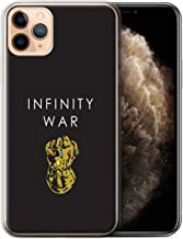 eSwish Gel TPU Phone Case/Cover for Apple iPhone 11 Pro Max/Infinity Gauntlet Art Design/Infinity War Inspired Collection