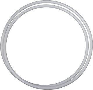 Jassy Rhythmic Gymnastics Travel Hoop- Unfolds from 15 in (46 cm) into a Full Size Hula Hoop - 3 Diff Sizes 80, 85, 90 cm