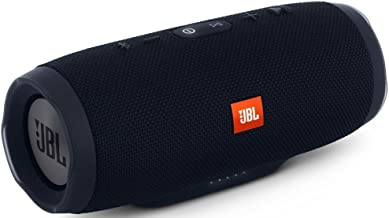 JBL Charge 3 JBLCHARGE3BLKAM Waterproof Portable...