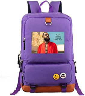 Asdfnfa Backpack, Nylon Men and Women Couple Rucksack Travel Sports Package Teen Men and Women Computer Packet Student Sch...
