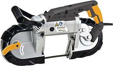 Optimum 3184210 SQ-V10 3184210-Sierra (Motor 1,1 kW, con luz LED de Trabajo para Madera, Metal y plástico, Longitud de la Cinta de Sierra 1140 mm)