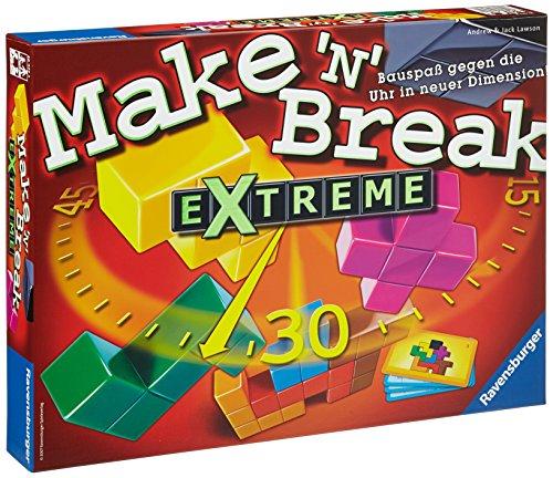 Ravensburger Make 'n' Break Extreme Niños Juego de Habilidades motrices Finas - Juego de Tablero (Juego de Habilidades motrices Finas, Niños, 30 min, 8 año(s), 99 año(s))