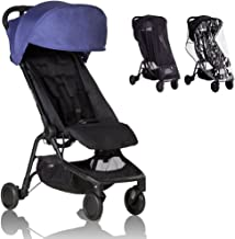 Mountain Buggy - Nano 2 Stroller - Nautical with All Weather Cover Pack