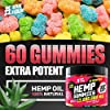 Gummies for Pаin, Аnxiety, Slееp, Stress Rеlief - Candy Gummy Bears with Oil - Rich in Vitamins B, E & Omega 3, 6, 9 #1