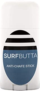 SURF BUTTA Anti Chafe Balm, 2.5 Ounce Stick - Eliminate Painful Skin Chafing Caused by Rubbing/Friction - Ideal for Inner Thighs - Paraben Free, Water and Sweat Resistant Anti Chafing