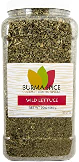 Wild lettuce leaf (100% Kosher Lactuca Virosa) l Natural opium lettuce for pain relief and sleep aid l 20 Ounces
