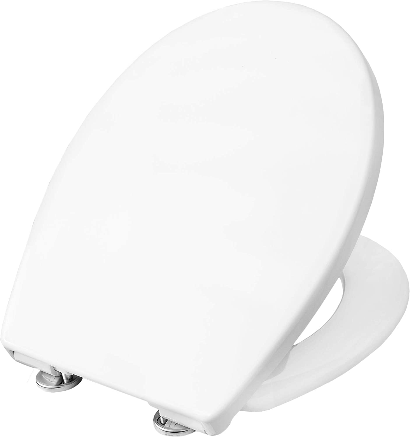 Cornat Premium 2?Toilet Seat with Slow-Close Mechanism Removable for Easy Cleaning, German Engineering [Pack of 1?KSPREMSC200