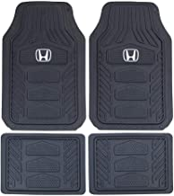 2019 Full Set for 1st row and 2nd row Ship from Canada for Honda Civic Sedan // Hatchback // Type R 2021 2020 2016 All Weather Digital Measured B 2017 Findway F100 3D Car Floor Mat // Liner TPE Rubber 2018 Waterproof 3-Year Warranty Custom Fit