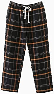 Men's Flannel Pajama Pants, Family Long Winter Christmas Cotton Pj Bottoms