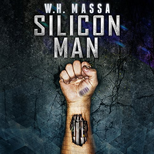 Silicon Man audiobook cover art