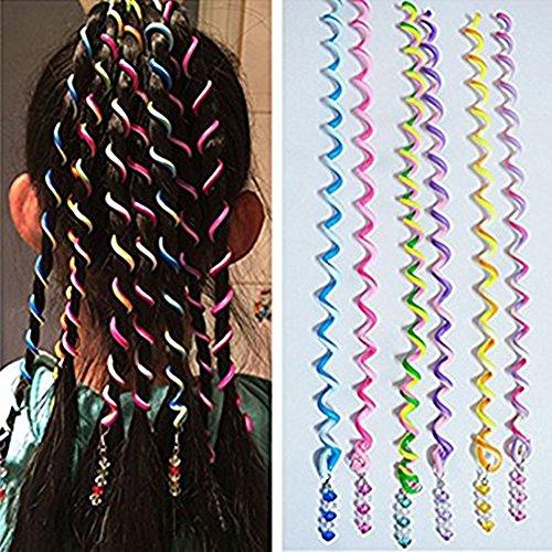 SwirlColor 6 PCS/Set Haar Styling Zubehör Frauen-Mädchen-Haar-Styling Twister Clip Braider Werkzeug DIY Zubehör