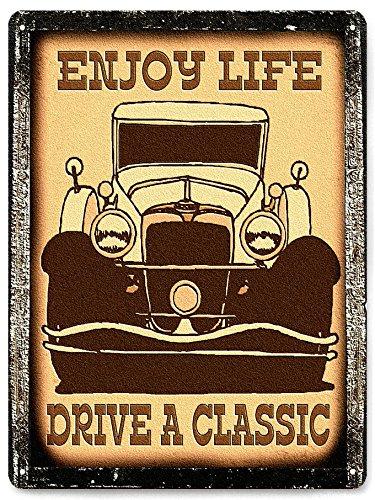 Car Classic metal sign vintage antique style mancave wall decor 309