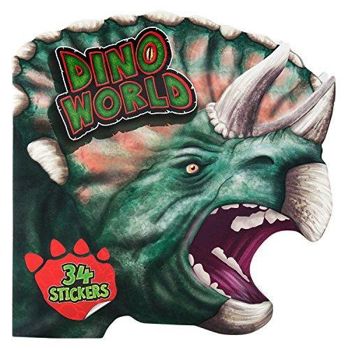 Depesche Dino World Sticker Colouring Book