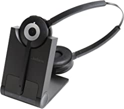Jabra Wireless; Dect; UC; Headset; Easy; Productive Bluetooth Headset for Softphones - Black