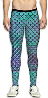 Olivefox Men's Compression Pants Baselayer Cool Dry Sports Tights Leggings