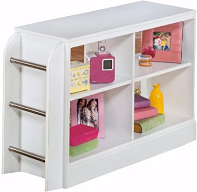 Ashley Furniture Signature Design - Lulu Loft Bookcase with Ladder - White