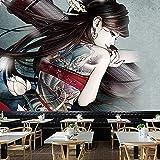 YDyun Tapiz Decoración Dormitorio o Sala de Estar Tienda de Tatuajes Mural Patrón Pared Paño Fondo Paño Pared