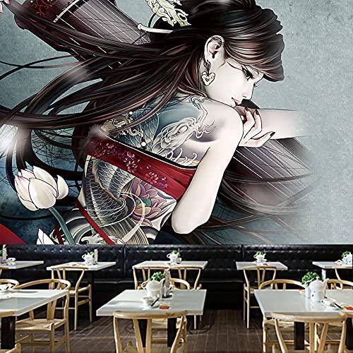 YDyun Tapiz para Colgar en la Pared, Tapestry, Tienda de Tatuajes Mural Patrón Pared Paño Fondo Paño Pared