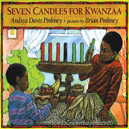 Seven Candles For Kwanzaa audiobook cover art