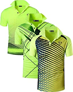 jeansian Garcon Boys T-Shirts de Sport Quick Dry Active Outdoor Sport Breathable Polo T-Shirt Tee Top LBS710