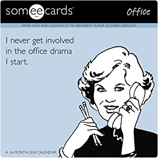 2018 Someecards Office Wall Calendar (Day Dream)
