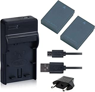 NinoLite 4点セット DB-90 互換 バッテリー2個 +USB型 充電器 +海外用交換プラグ 、リコー Ricoh 対応 dc29db90x2_t.k.gai