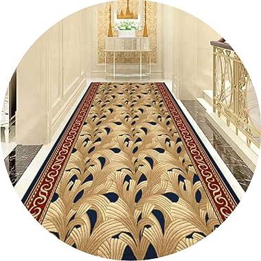 JIAJUAN Hallway Runner Rug Kitchen Living Dining Room Entryway Passage Contemporary Rectangular Extra Long Floor Carpet Mat (