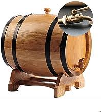 MAGFYLY Eiken vat houten vat wijn vat, eiken vat wijn vat, zelfgemaakte wijn vat, whisky 3L, 5L, 10L, 20L (capaciteit: 5L,...