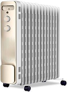 DDSS Heater, Electric Oil Heater Space Heater Anti-scalding Hollow Heat Sink, 2200W3 Gear Adjustment (Size : 2200W)