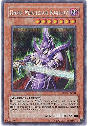 YU-GI-OH! - Dark Magician Knight (ROD-EN001) - Reshef of Destruction GBA Promo - Promo Edition - Secret Rare by