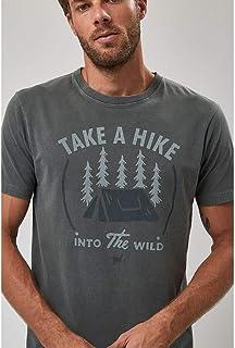 Camiseta Take A Hike - Verde Militar