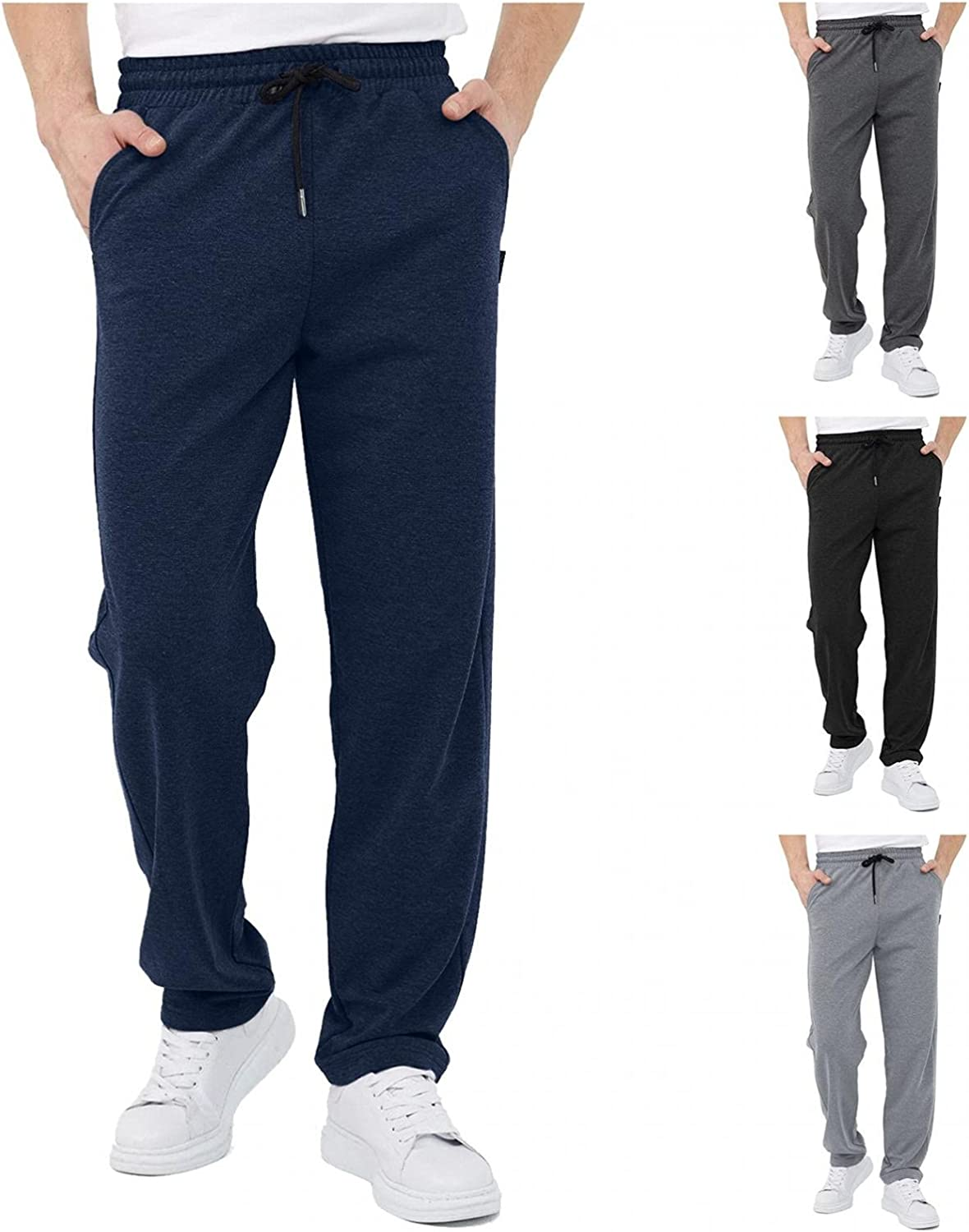 iCODOD Dedication Men's Shorts Sports Casual low-pricing Elastic Shor Solid Color Waist