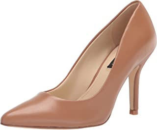 حذاء نسائي من NINE West، جلد أسمر ضارب للصفرة، 8. 5