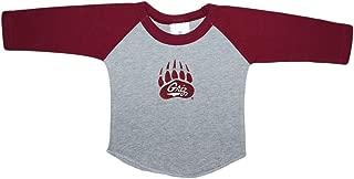 University of Montana Grizzlies Baby and Toddler 2-Tone Raglan Baseball Shirt