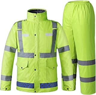 Safety Vests Winter Working Clothing Outdoors Thermal Protection Uniforms Mens Cotton Wadded Padded Safety Clothing Thick ...