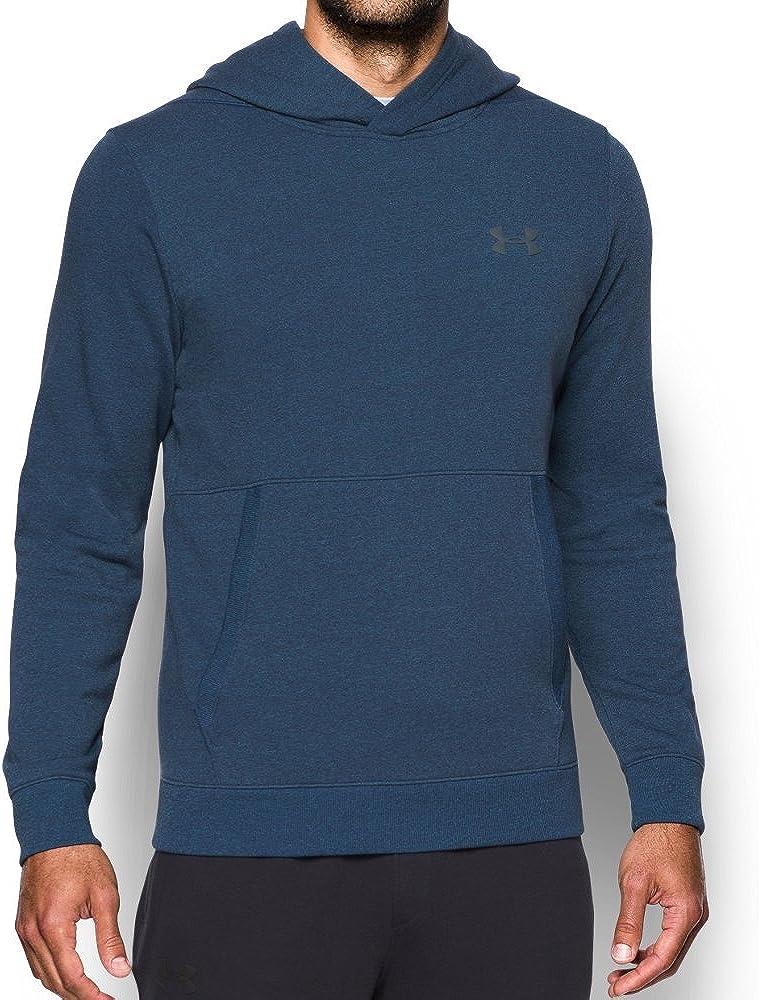 Men's Under Armour Threadborne Fleece Hoodie, Bayou Blue, L-T
