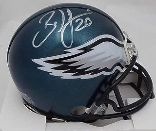 Brian Dawkins Autographed Philadelphia Eagles Mini Helmet Beckett BAS