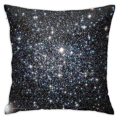 HPOFKEOEF Galaxy Starry Sky Economical Family Pillow Case Office Sofa Decoration Back Cushion Without Pillow 18x18 Inch