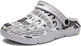 FDSVCSXV Hombre para Mujer Casual jardín Zapatos Zapatos Zapatos Ligeros Zapatos de Agua cómodos Sandalias Zapatillas para...