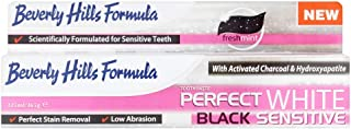 Beverly Hills Formula Perfect White Black Sensitive Toothpaste, 125 ml
