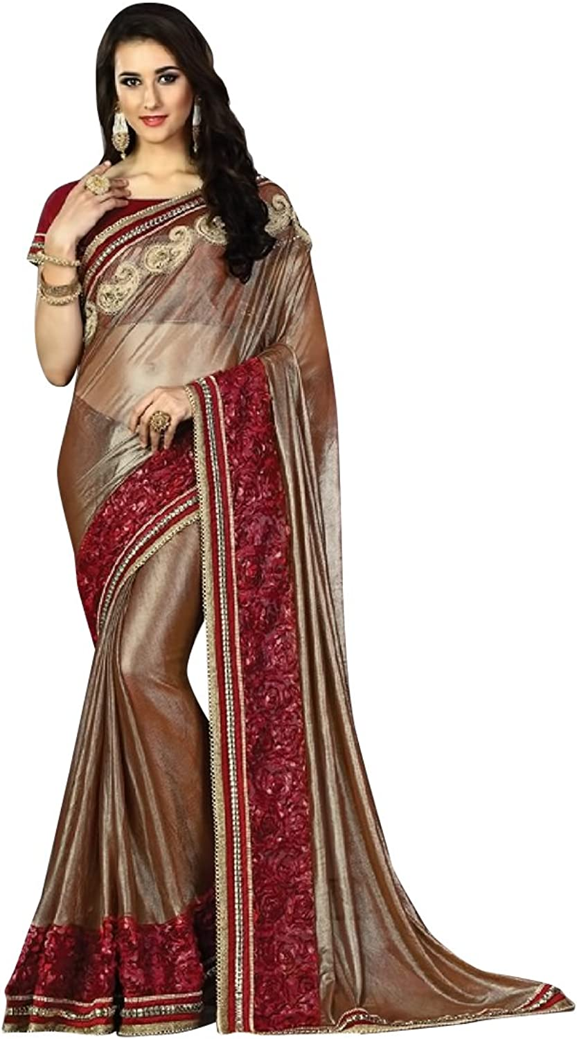 BRIDAL BOLLYWOOD DESIGNER SAREE SARI WEDDING CEREMONY PARTY WEAR INDIAN MUSLIM