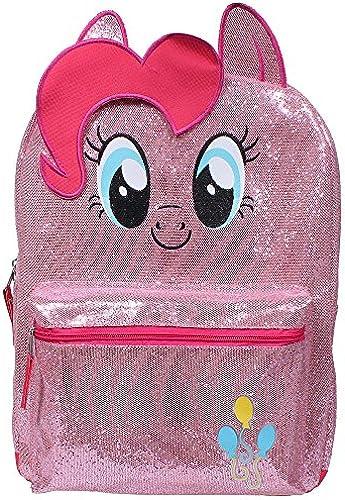 Little Pony Rosaie Rucksack für mädchen, 40,6 cm,  , glitzernd, Rosa