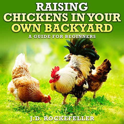 Raising Chickens in Your Own Backyard audiobook cover art
