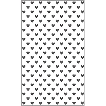Embossing Folder Dots /& Grid **UK Seller Fast Dispatch** Hearts