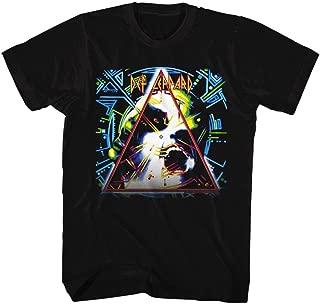Def Leppard Hysteria Cover Mens Black T-Shirt