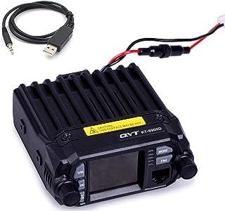 QYT KT-8900D (Upgraded 2nd Gen.) Mobile Transceiver Dual Band QUAD Standby VHF/UHF 136-174/400-480MHz Mini Car Radio Amateur (HAM) Radio